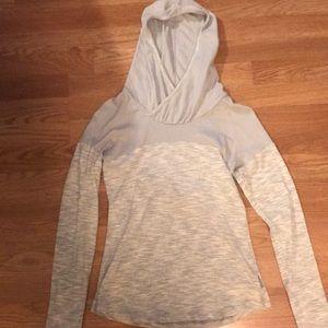 Gray columbia hoodie